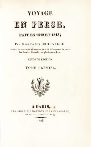 French - Voyage en Perse Vol. 1