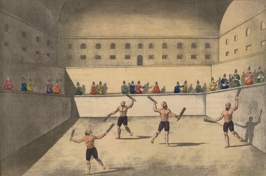Voyage en Perse Vol. 2 - Athletes persans en excercice (1825)