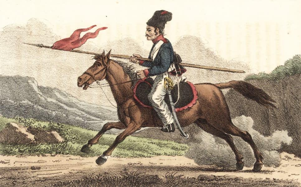 Voyage en Perse Vol. 2 - Nizam atly Lancier regulier persan (1825)