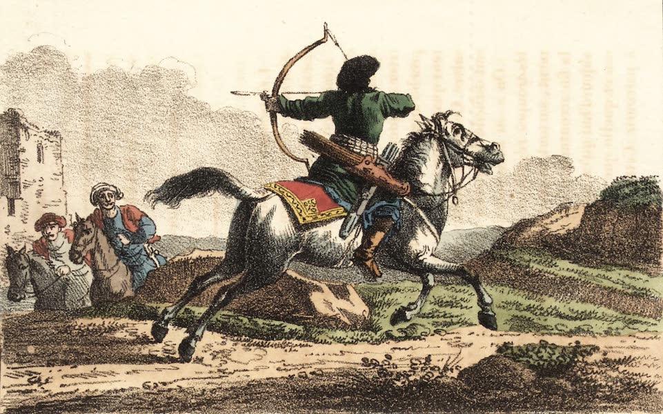 Voyage en Perse Vol. 2 - Archer cavalier persan (1825)