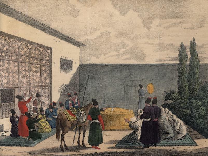 Voyage en Perse Vol. 2 - Ceremonie des funerailles persanes (1825)