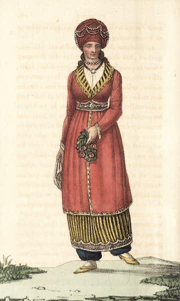 Voyage en Perse Vol. 2 - Dame curde paree au Harem (1825)