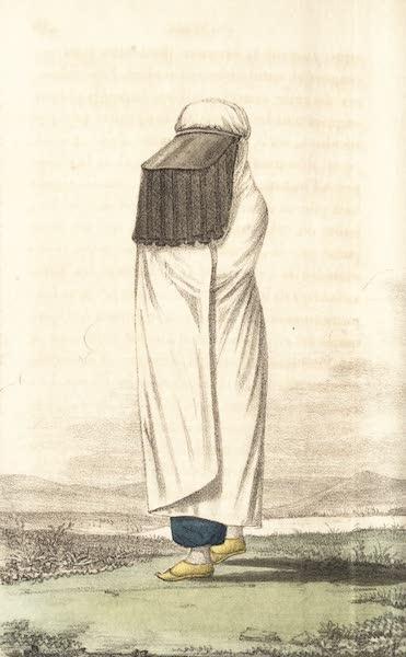Voyage en Perse Vol. 2 - Dame curde a la promenade (1825)