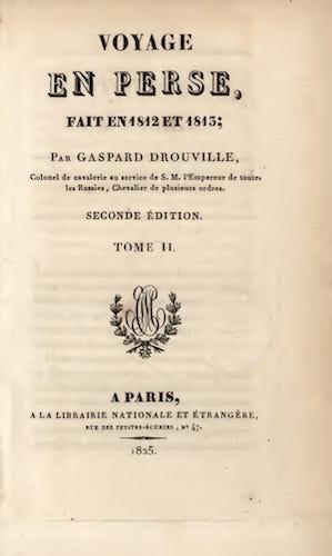 French - Voyage en Perse Vol. 2