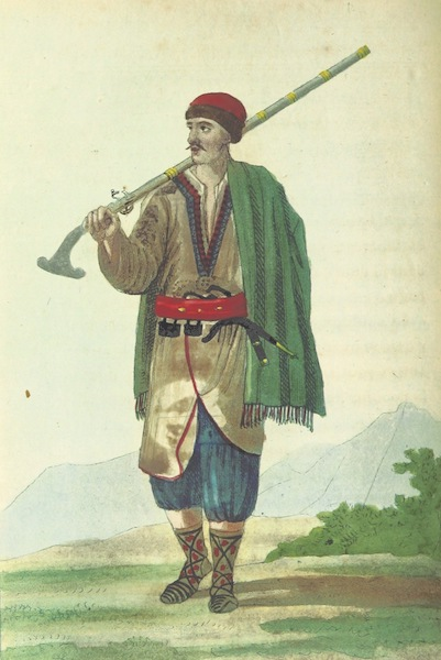 Voyage Historique et Politique au Montenegro - Habitant du Montenegro (1820)