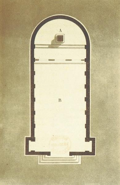 Voyage Historique et Politique au Montenegro - A. Autel - B. Plan de l'Eglise (1820)