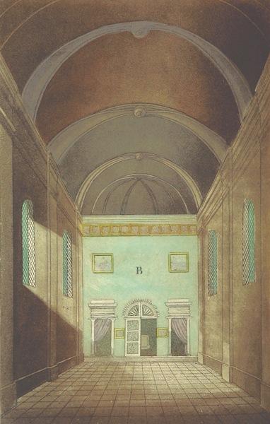 Voyage Historique et Politique au Montenegro - Interieur de l'Eglise (1820)