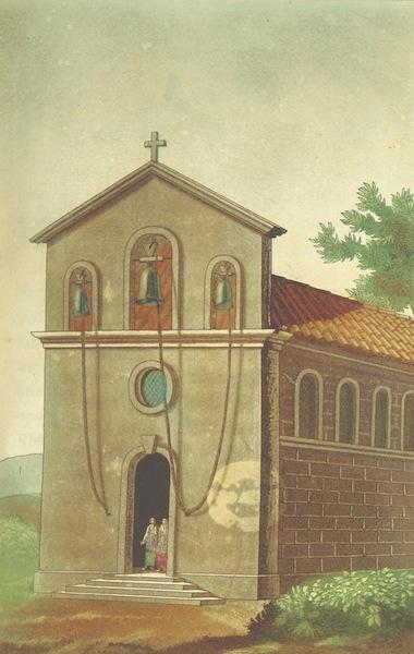 Voyage Historique et Politique au Montenegro - Facade de l'Eglise (1820)