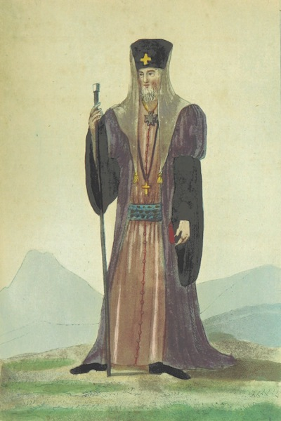 Voyage Historique et Politique au Montenegro - L'Eveque ou Wladika (1820)