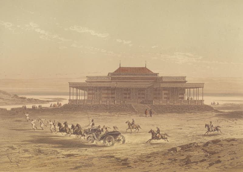 Voyage Pittoresque a Travers l'Isthme de Suez - Chalet du Vice-Roi (1870)