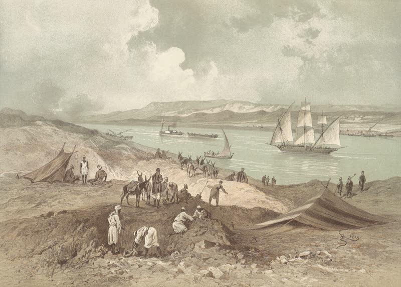 Voyage Pittoresque a Travers l'Isthme de Suez - Chalouf (1870)