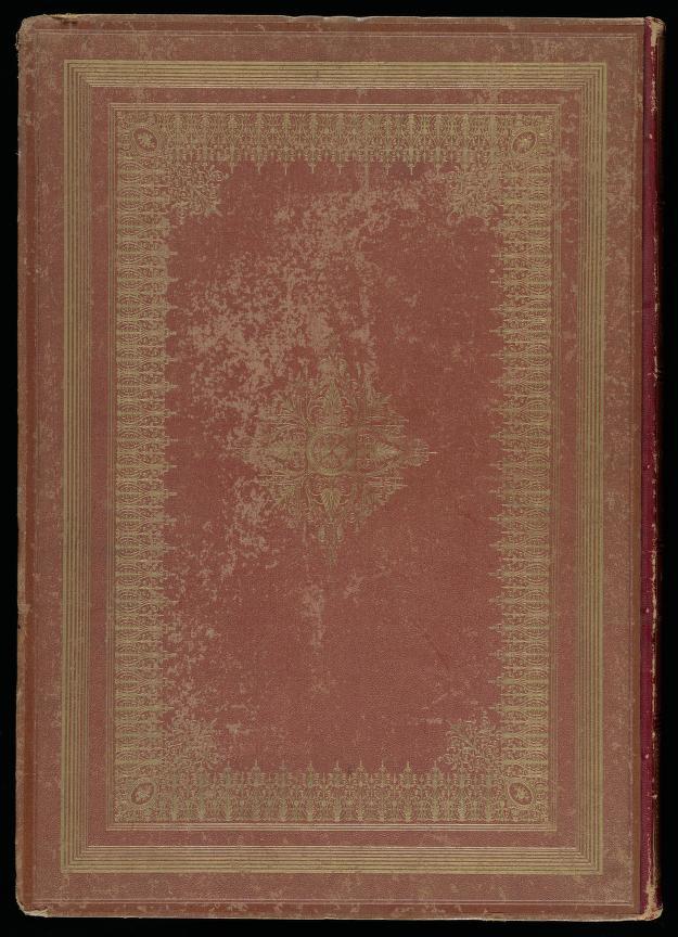 Voyage Pittoresque a Travers l'Isthme de Suez - Back Cover (1870)