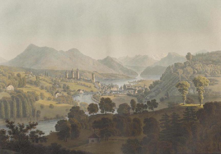 Voyage Pittoresque au Lac des Waldstettes ou des IV Cantons - Vue de Lucerne (1817)
