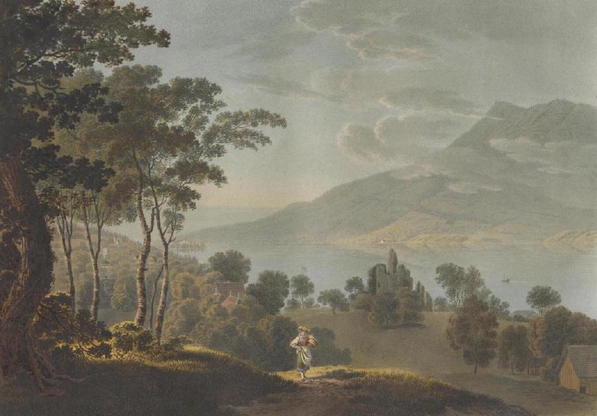 Voyage Pittoresque au Lac des Waldstettes ou des IV Cantons - Vue prise du Meggenhorn (1817)
