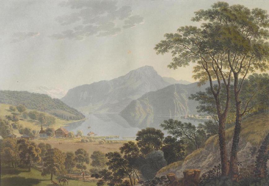 Voyage Pittoresque au Lac des Waldstettes ou des IV Cantons - Vue prise de Winkel (1817)