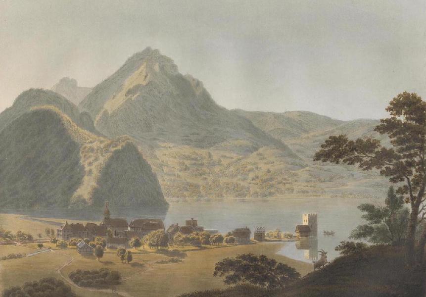 Voyage Pittoresque au Lac des Waldstettes ou des IV Cantons - Vue de Stanzstad (1817)