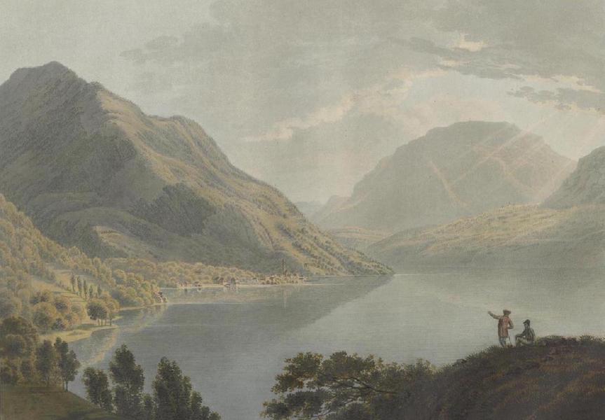 Voyage Pittoresque au Lac des Waldstettes ou des IV Cantons - Vue de Gersau (1817)