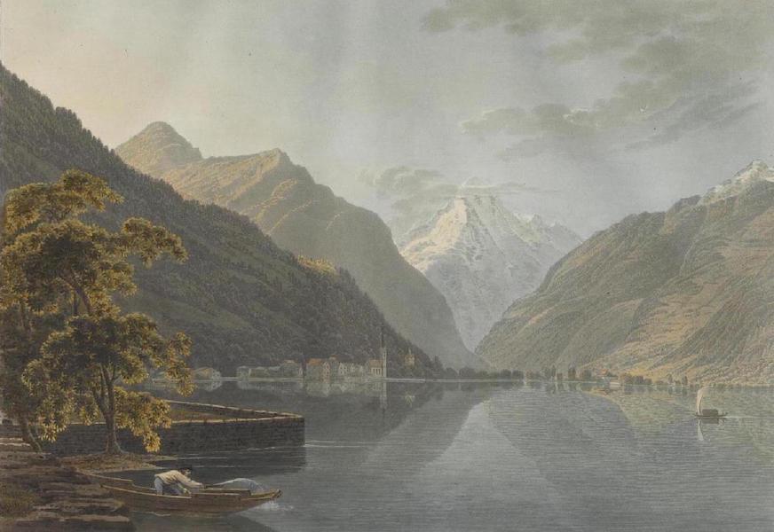 Voyage Pittoresque au Lac des Waldstettes ou des IV Cantons - Vue de Fluelen (1817)