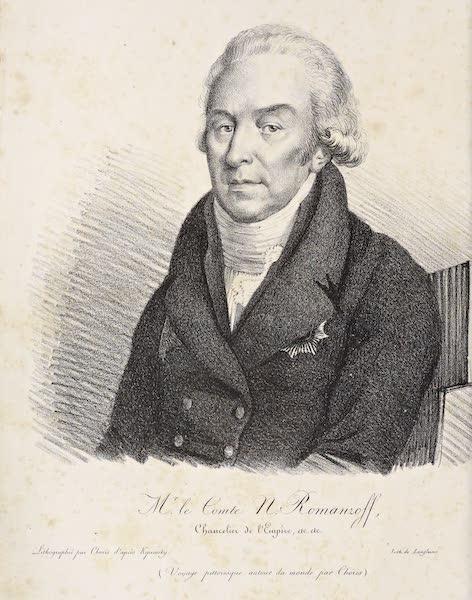 Voyage Pittoresque Autour de Monde - Frontispiece Portrait (1822)