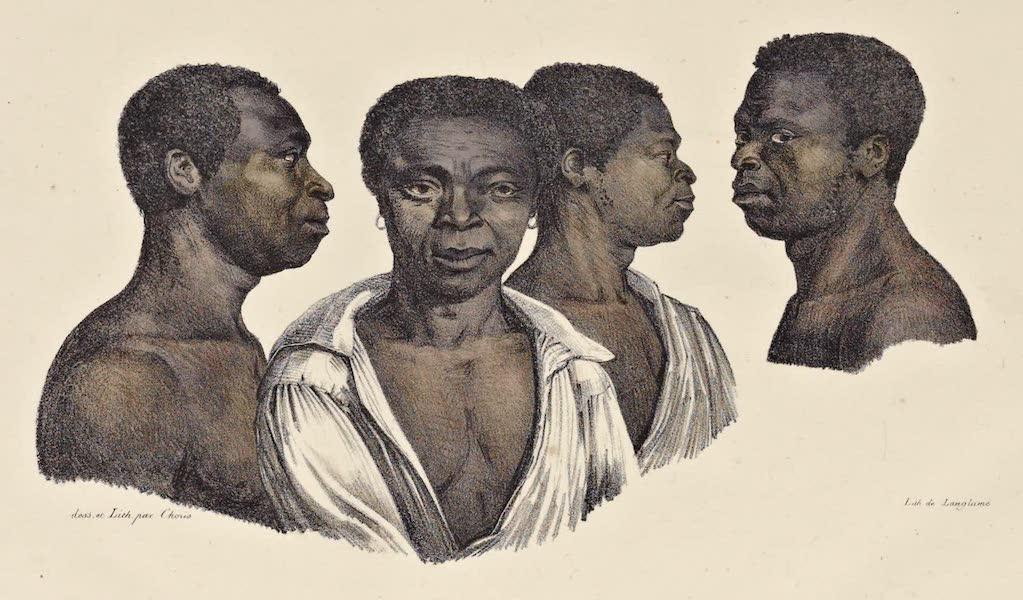 Voyage Pittoresque Autour de Monde - Negres de la cote Mosambique (1822)
