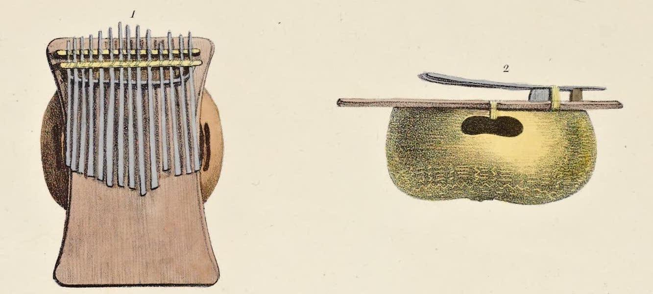 Voyage Pittoresque Autour de Monde - Instrument de musique des Negres (1822)