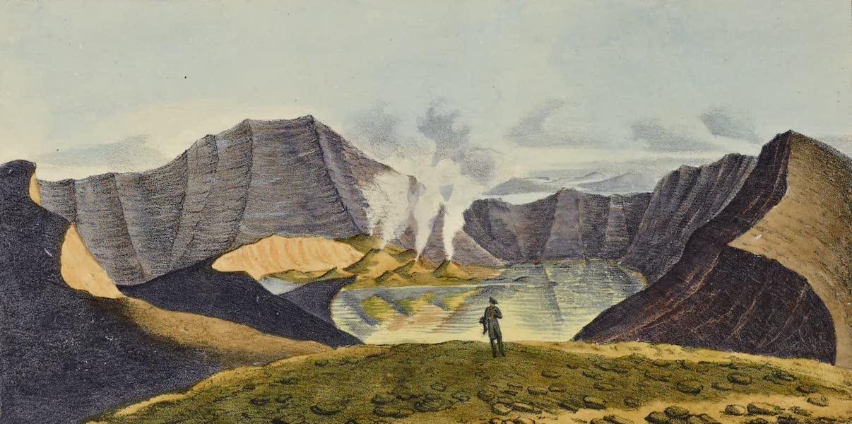 Voyage Pittoresque Autour de Monde - Volcan de Taal, dans l'ile de Luzon (1822)