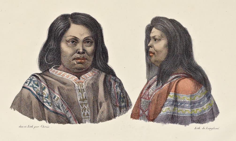 Voyage Pittoresque Autour de Monde - Araucanos indigenes de Chili (1822)
