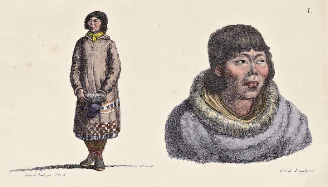 Voyage Pittoresque Autour de Monde - Kamtchadales (1822)