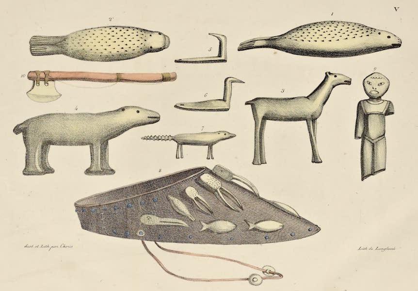 Voyage Pittoresque Autour de Monde - Objects (1822)