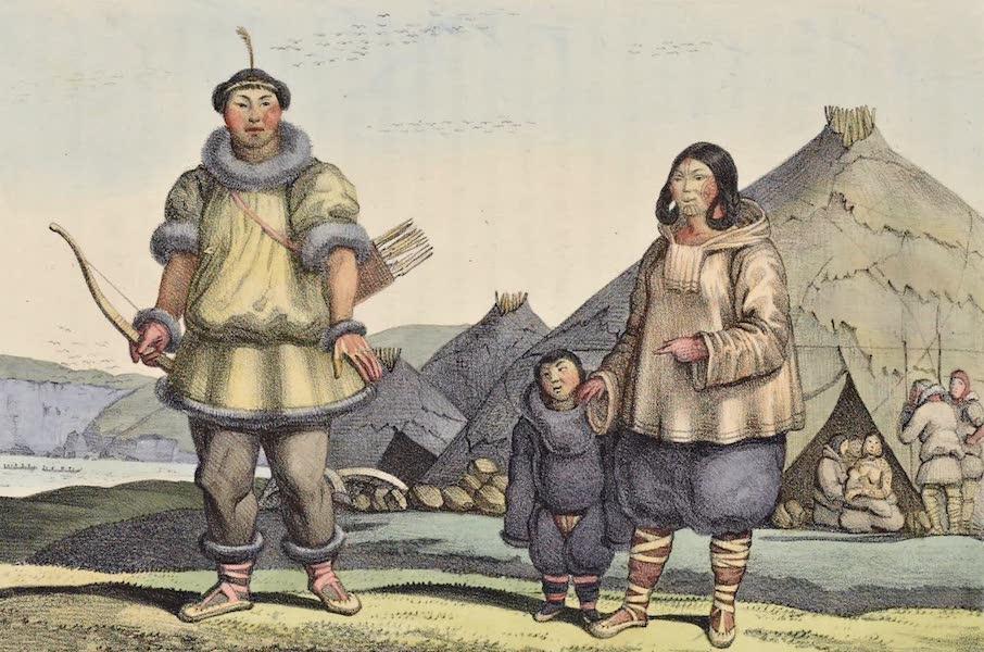 Voyage Pittoresque Autour de Monde - Tchouktchis et leurs habitations (1822)