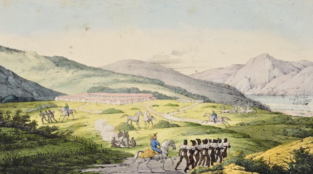 Voyage Pittoresque Autour de Monde - Vue de Presidio San Francisco (1822)