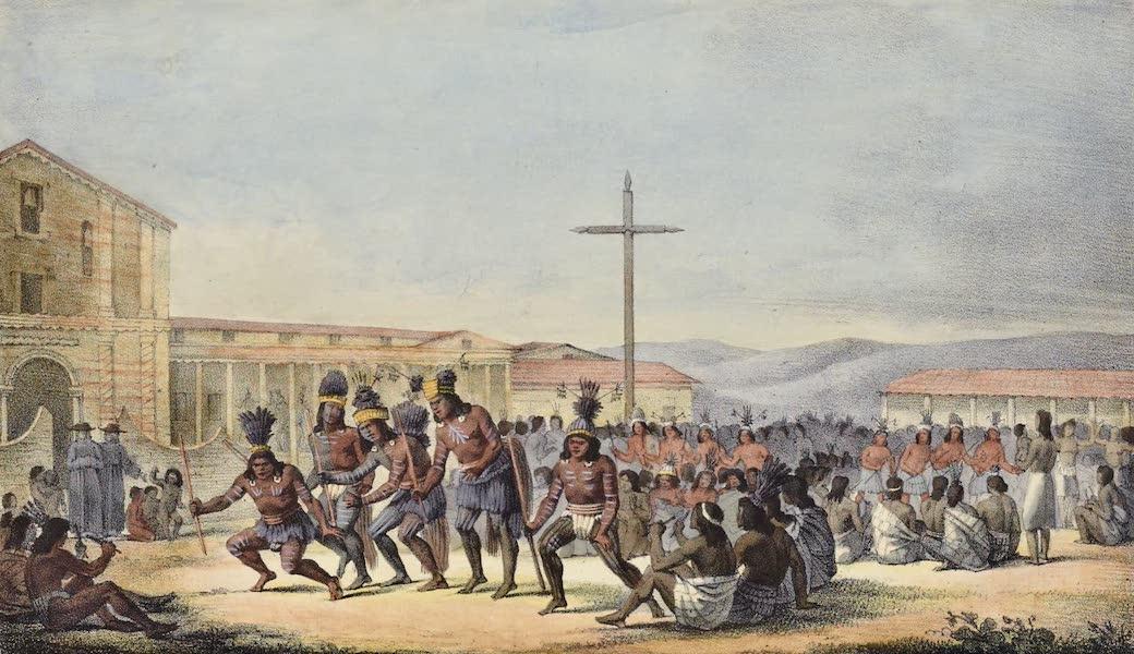Voyage Pittoresque Autour de Monde - Danse des habitans de Californie a la mission de San Francisco (1822)