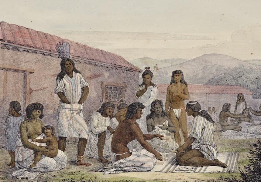 Voyage Pittoresque Autour de Monde - Jeu des habitans de Californie (1822)