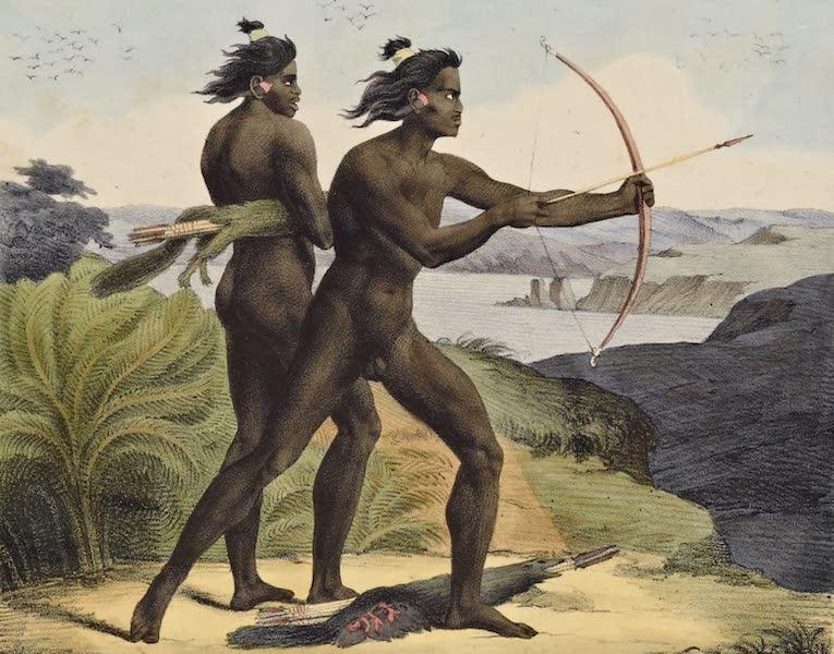 Voyage Pittoresque Autour de Monde - Tcholovonis a la chasse dans le baie de San Francisco (1822)