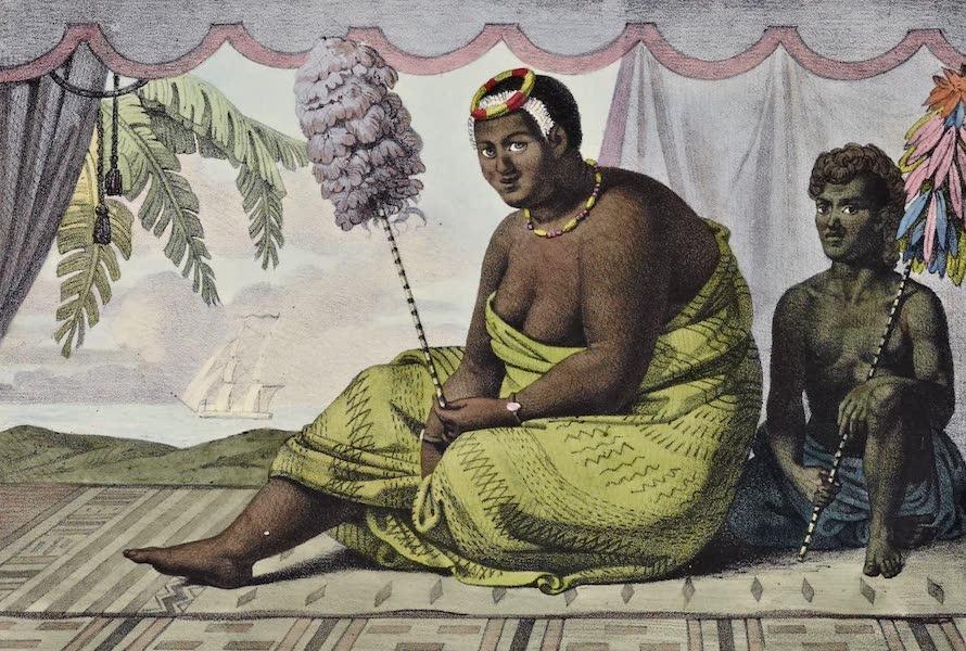 Voyage Pittoresque Autour de Monde - Reine Cahoumanou (1822)
