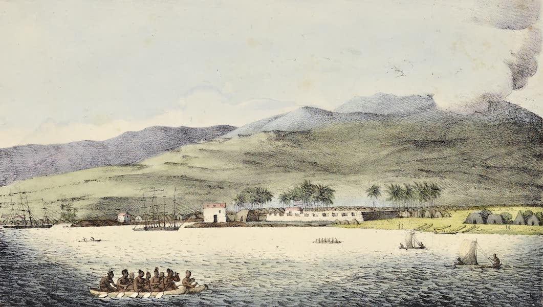 Voyage Pittoresque Autour de Monde - Vue du port Hanarourou (1822)