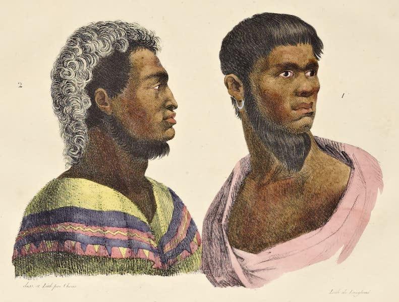 Voyage Pittoresque Autour de Monde - Habitants des isles Sandwich (1822)