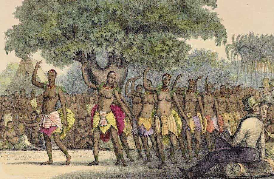 Voyage Pittoresque Autour de Monde - Danse des femmes dans les isles Sandwich (1822)