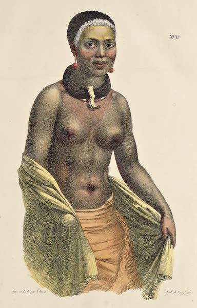 Voyage Pittoresque Autour de Monde - Femme des isles Sandwich (1822)