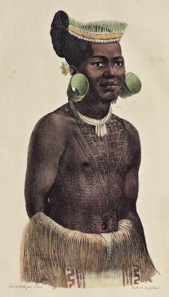 Voyage Pittoresque Autour de Monde - Larik chef du groupe des isles Romanzoff (1822)