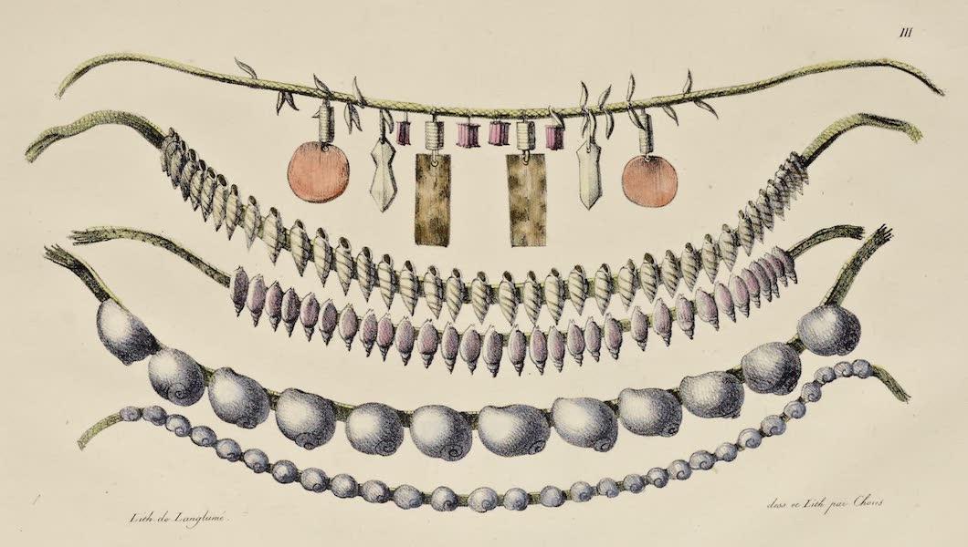 Voyage Pittoresque Autour de Monde - Ornemens des habitans des isles Radak (1822)