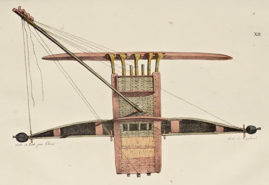 Voyage Pittoresque Autour de Monde - Bateau a voile des isles Radak (1822)