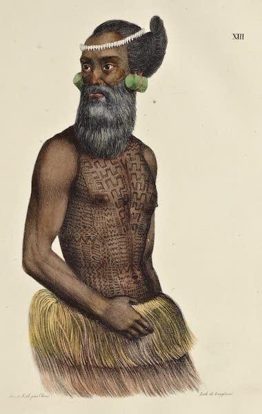Voyage Pittoresque Autour de Monde - Homme des isles Radak (1822)