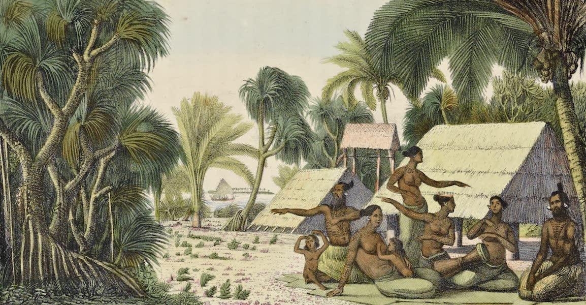 Voyage Pittoresque Autour de Monde - Vue dans les isles Radak (1822)