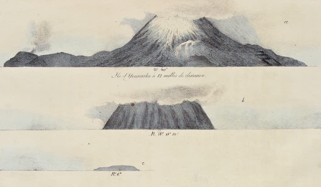 Voyage Pittoresque Autour de Monde - Ile de Younaska a 12 milles de distance (1822)