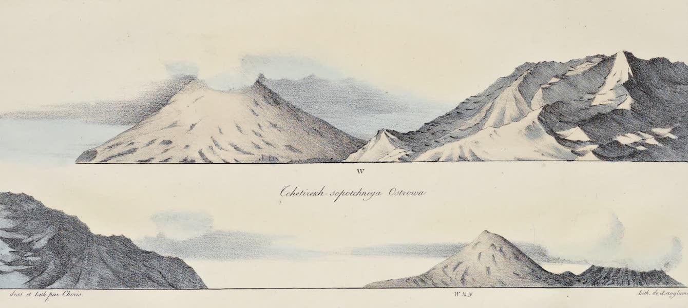 Voyage Pittoresque Autour de Monde - Iles Aleoutiennes. (1822)