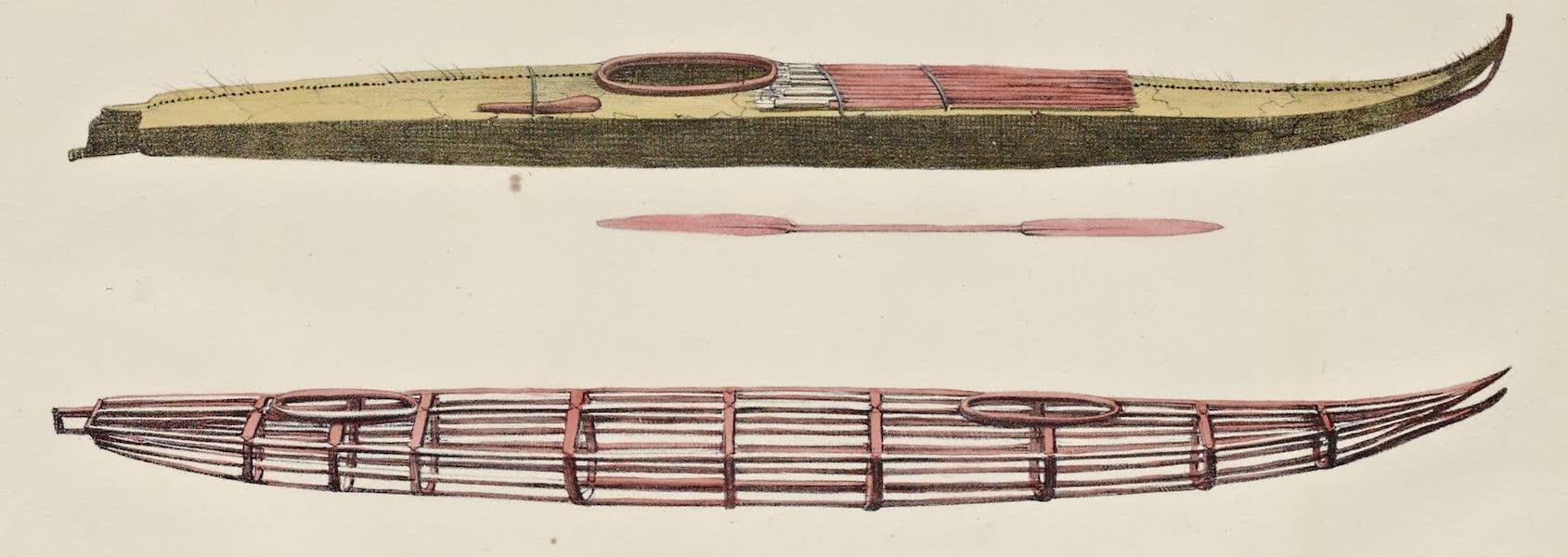 Voyage Pittoresque Autour de Monde - Bateaux des isles Aleoutiennes (1822)