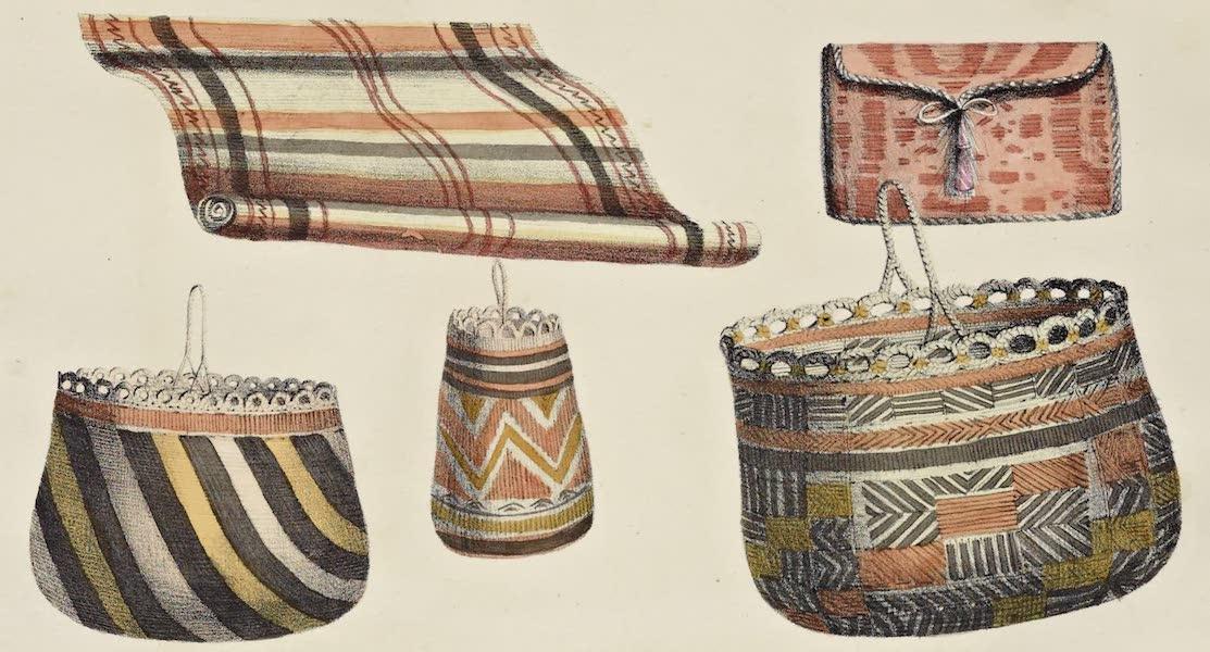 Voyage Pittoresque Autour de Monde - Corbeilles des isles Aleoutiennes (1822)