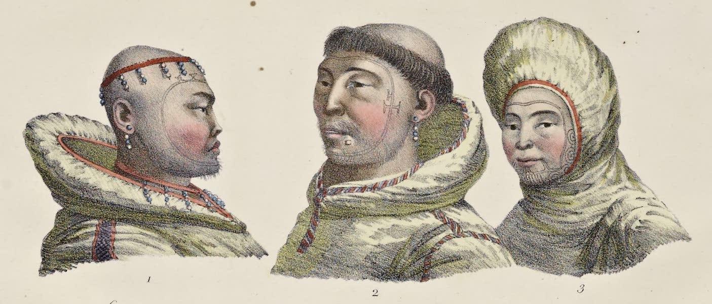 Voyage Pittoresque Autour de Monde - Habitans de l'ile St. Laurent (1822)
