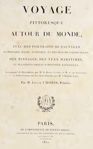 French - Voyage Pittoresque Autour de Monde